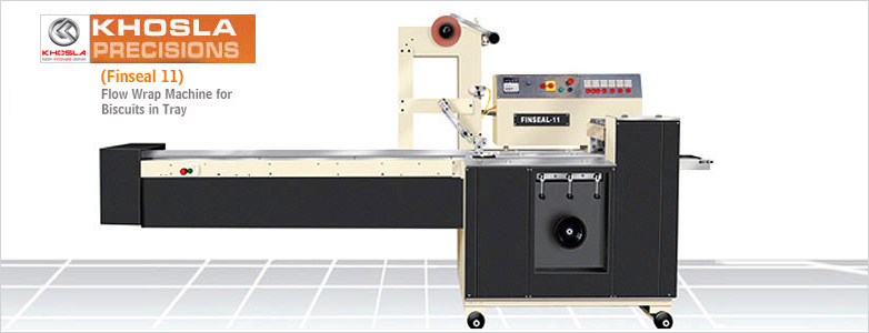 Horizontal Flow Wrap Machine For Biscuits (Finseal 11)
